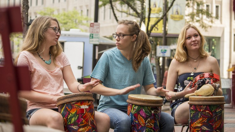 Rhythm Discovery Center: Drum Circle and Percussion Demonstrations